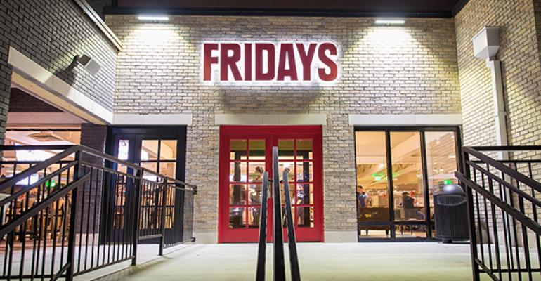 TGI Fridays restaurant
