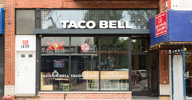 A look inside the new Taco Bell Cantina