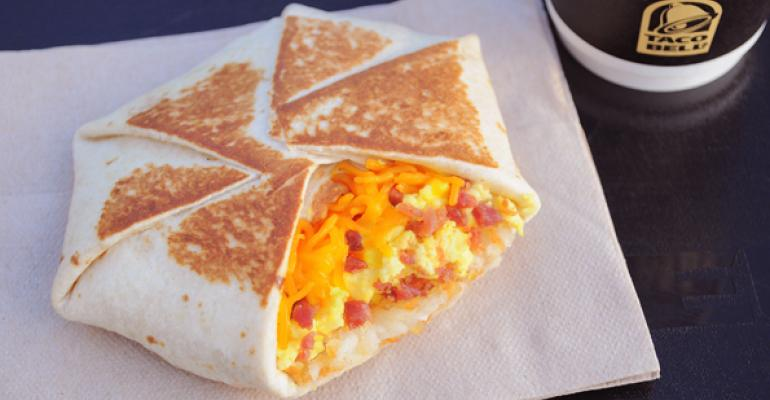 A look at popular QSR breakfast sandwiches