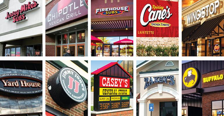 2015 Top 100: A look at the 10 fastest-growing chains