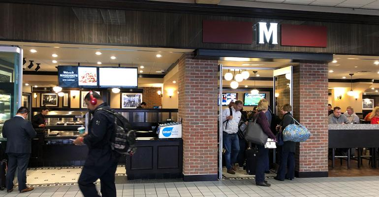 Maggiano's lands first airport location