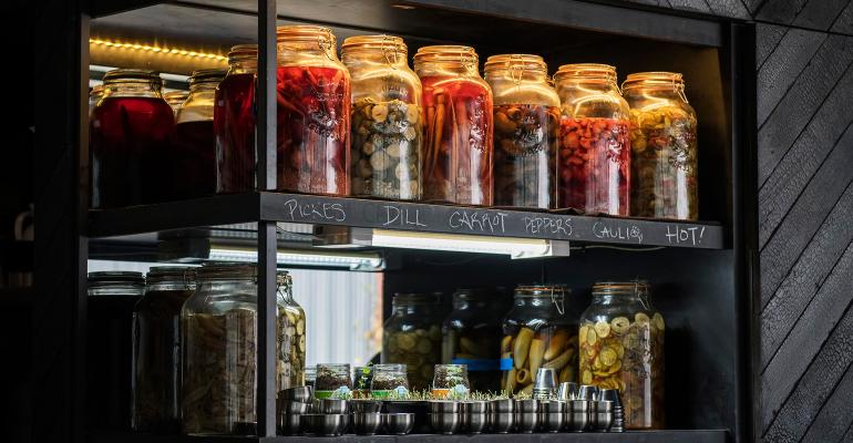 pickled fruits and vegetables