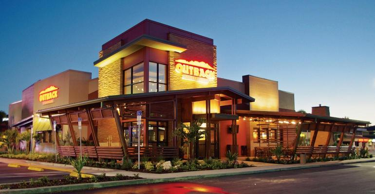 Bloomin' Brands sells 54 restaurants, mostly Outback, to franchisees
