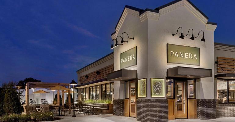 A Panera Bread storefront