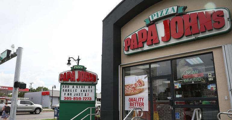 Papa John's stock slides after report of sale-talk breakdown