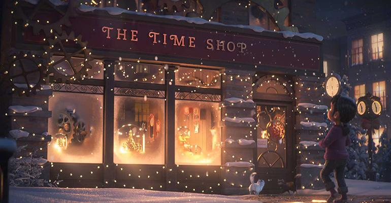 A still photo of the animated Christmas short film by Chick-fil-A about the spirit of giving