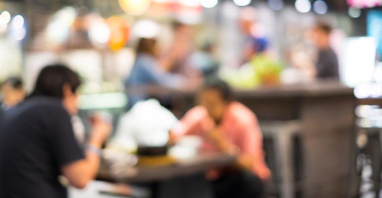 restaurant customers