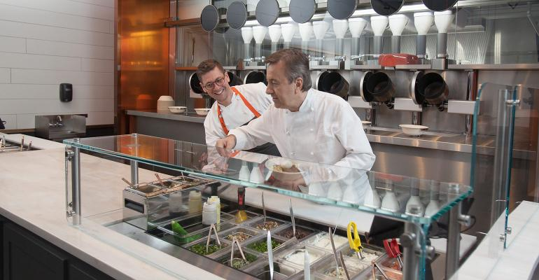 Why not pair robots with acclaimed chefs?