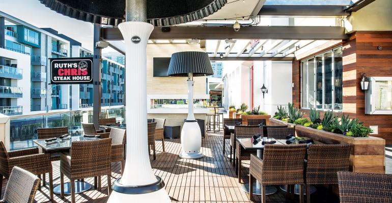 New CEO of Ruth's Chris takes charge amid positive comps