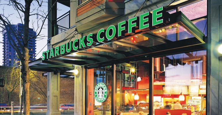 Starbucks same-store sales up as traffic stabilizes