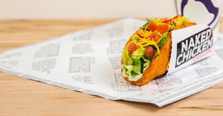 taco bell naked chalupa