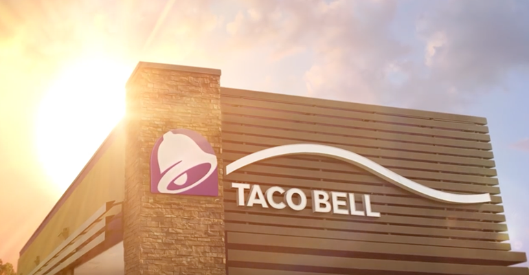 taco bell sunset