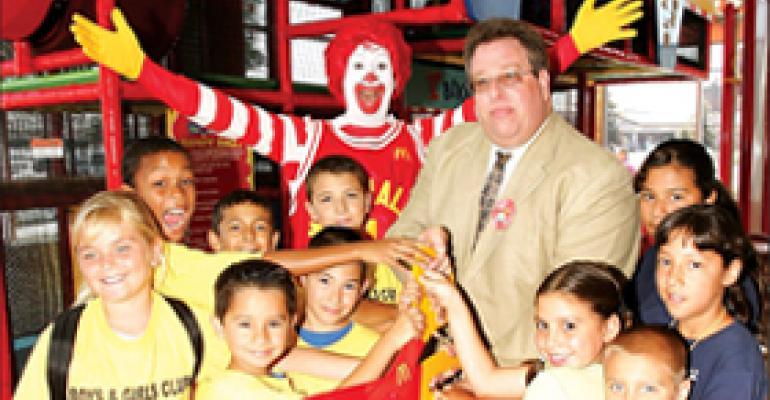 Kids actively enjoy R-Gym at McDonald's