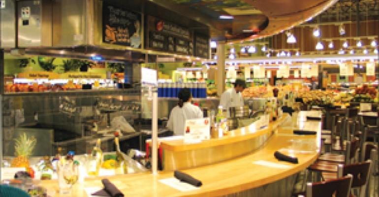 Whole Foods shops for dining business with in-store restaurants