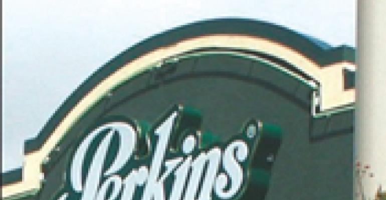 PERKINS' FIRST SWEEPSTAKES PROMOTES INTRODUCTION OF ALL DAY SCRAMBLERS