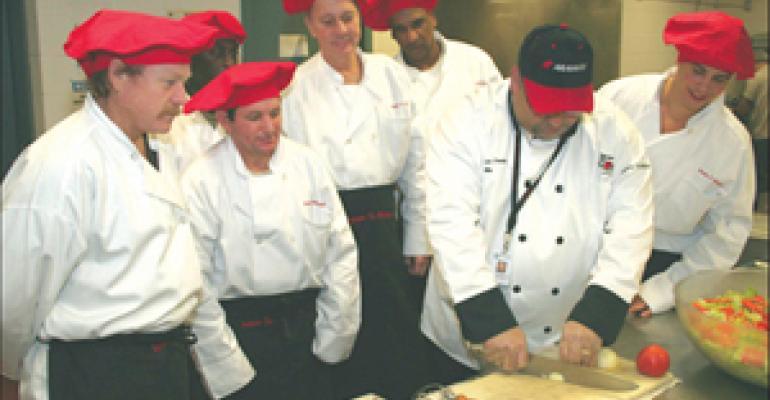 Aramark program trains inmates for post-incarceration culinary careers