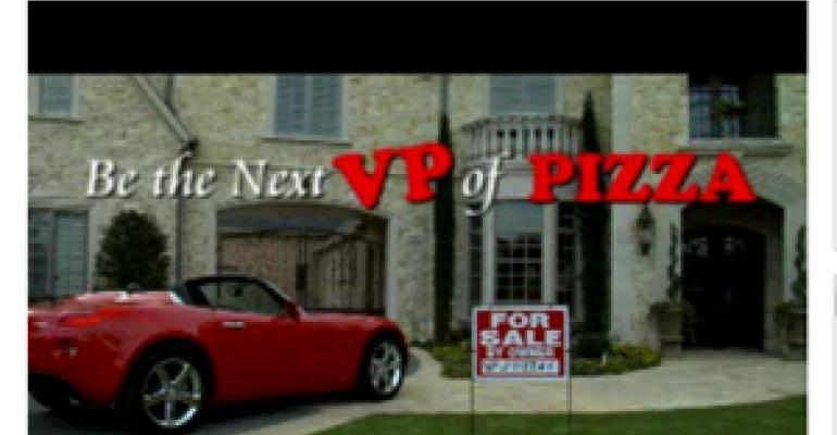 Pizza Hut's new promo aims for video makers with a pizza yen