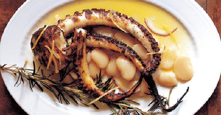 Corona beans loom large on fine-dining menus