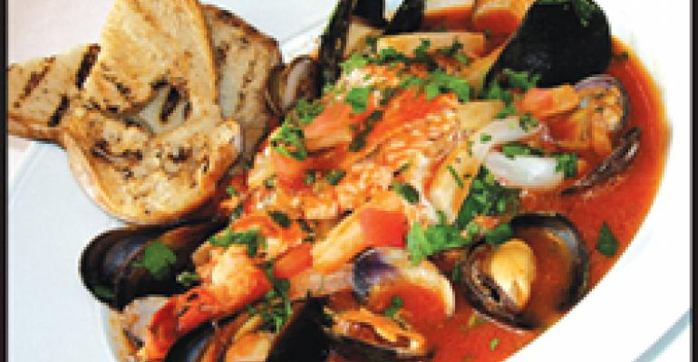 ON FOOD: Waiter, there's a fish in my soup: Global takes on seafood stew have chefs bowled over