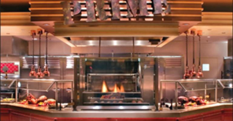 Equipment adds freshness, flash to Vegas buffet
