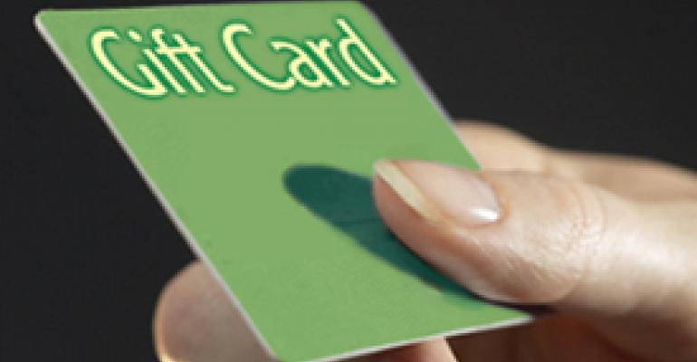 Restaurants look to play their gift cards right