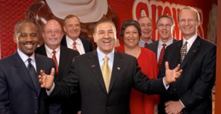 Shoney's builds new management team