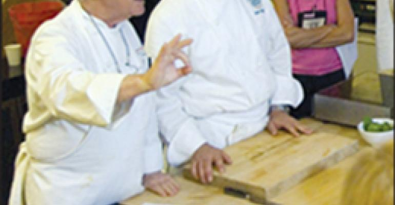 Cia Chefs Show Ways to Make Healthy Food Flavorful at Harvard Conference