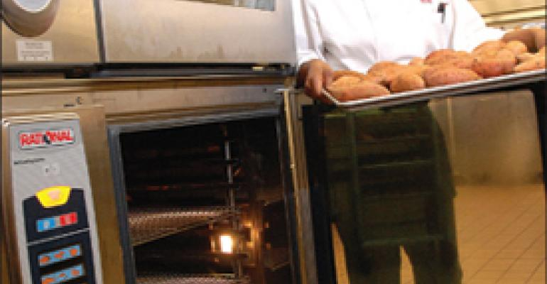 Combi oven's popularity gains steam among chefs