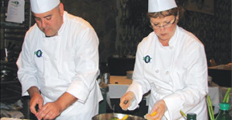 Chefs help hospitals doctor up menus, sales