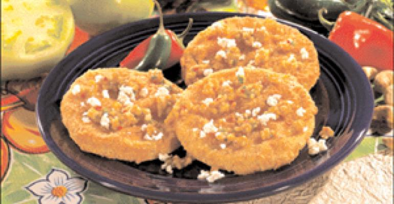 DISH OF THE WEEK: Fried green tomatoes and cashew relish