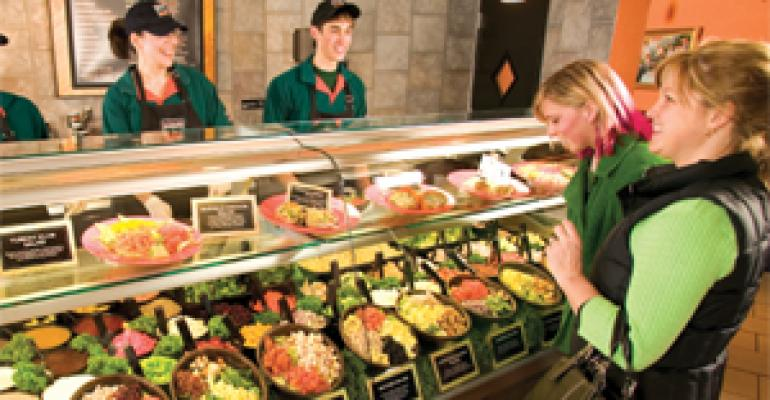 Fast-casual ups the ante with fresh, healthful options