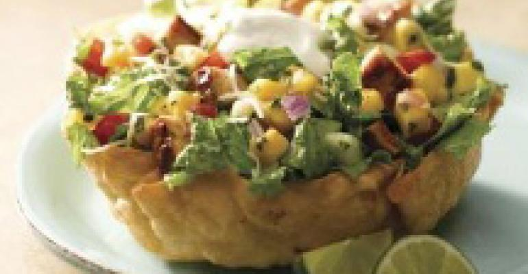 Qdoba adds salad featuring mango, choice of sour cream