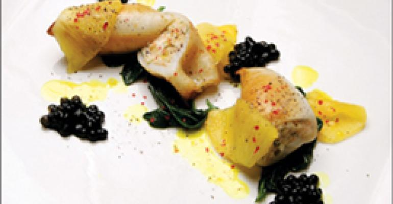 Dish of the Week: Stuffed squid Boka, Chicago