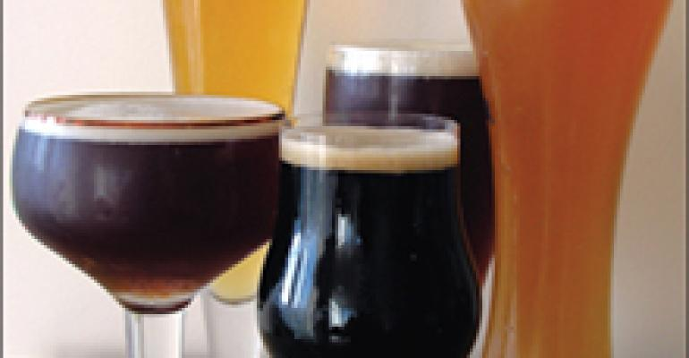 Beer, Wine & Spirits: With premium beers, the right glass can make all the difference in taste, presentation