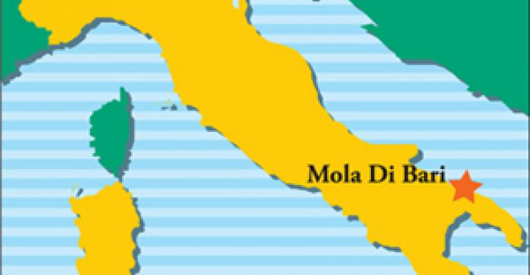 Cuisine and culinary talent of Italy's Mola di Bari abound at fine U.S. restaurants