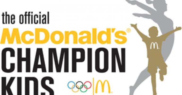 McDonald's seeks to 'enrich' kids with its Beijing Olympics initiative