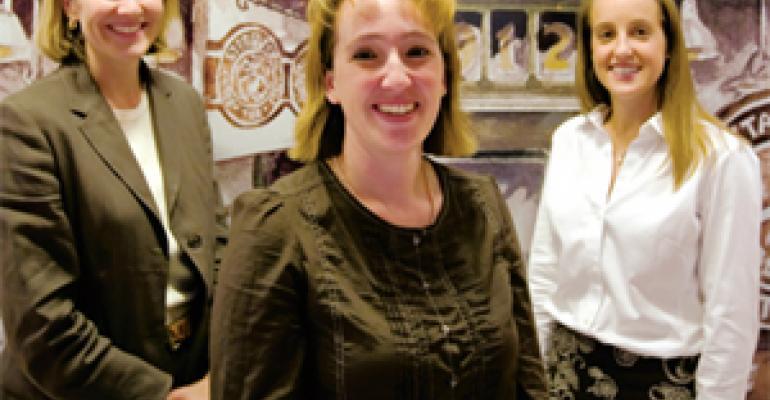 Susan Aley, Jennifer Dimaris and Laurie Friesen
