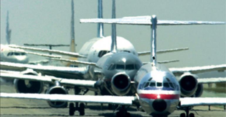 Airport foodservice sales soar amid record delays