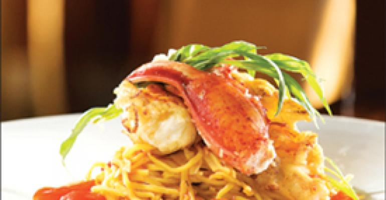 Dish of the Week: Spaghetti with lobster and shrimp