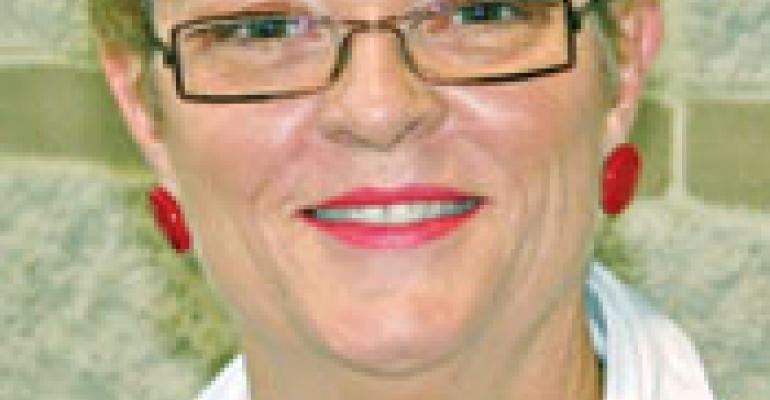 "Donatos' Linda Bernabie returns to career on the ""edge"""