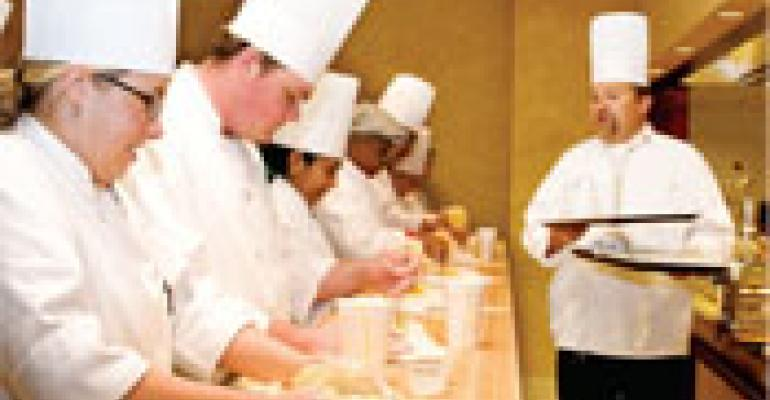 More chefs begin culinary careers as apprentices