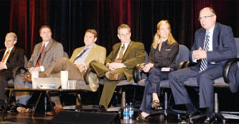 'Green,' security and mobile issues among hot topics during FS/TEC supplier exec exchange