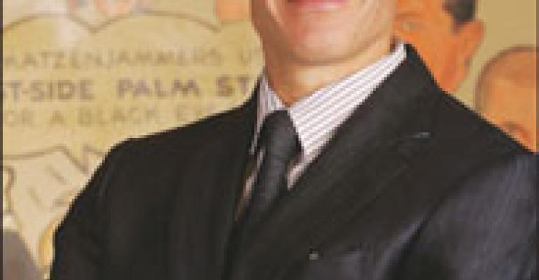 Having Words With Bruce Bozzi Jr. Executive Vice President, Palm Restaurant Group