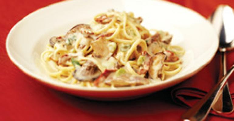 Dish of the Week: Mushroom profusion pasta
