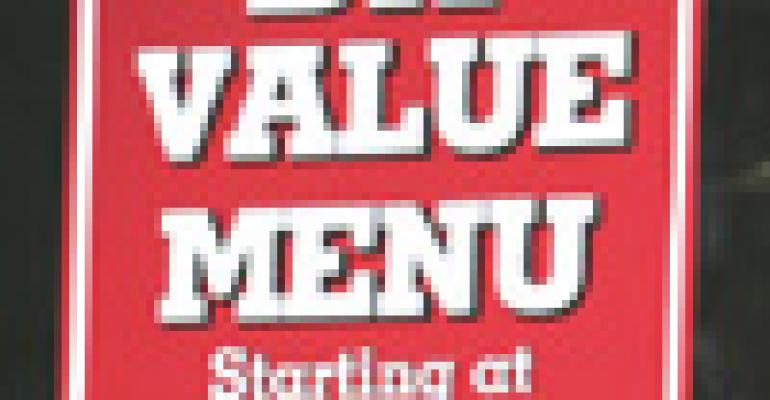 Rising costs pressure value menu strategies