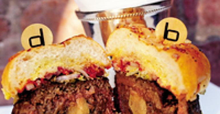 Forget culinology. The hot fine-dining trend could be burgers