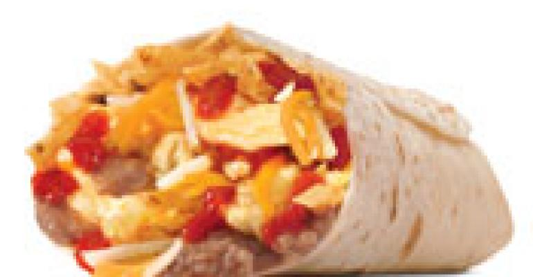 Carl's Jr. rolls Mexican breakfast burrito