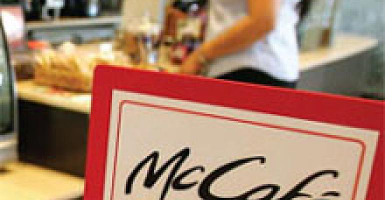 Starbucks-dominated category wakes up and smells McD's espresso rollout