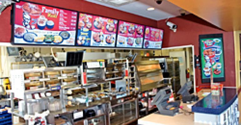 KFC in expanded test of digital signage