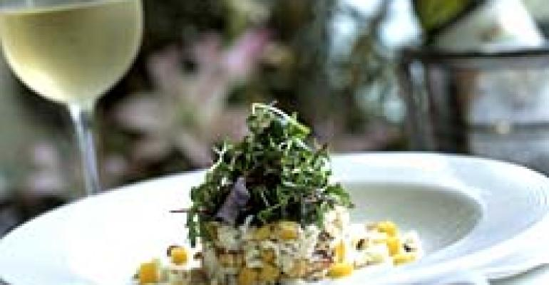 Chefs use a delicate touch with crabmeat starters